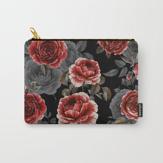 Rose Garden Carry-All Pouch