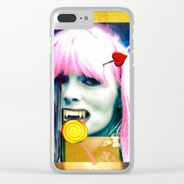 Dead and Famous: Nico (The Velvet Underground) Clear iPhone Case