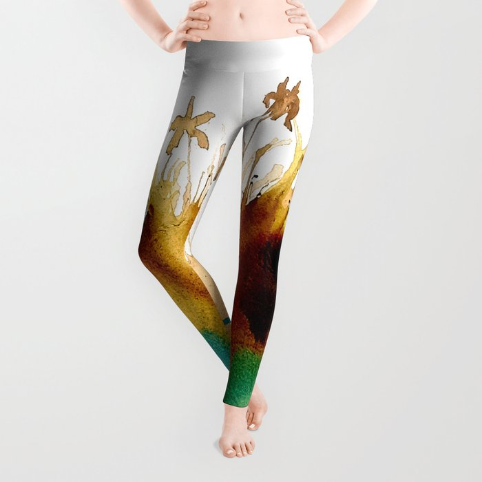 Coffee Island Leggings