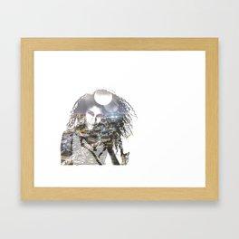 double exposure PV - C Framed Art Print