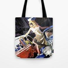 Domino Lady # 5 Tote Bag