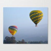 ballon Canvas Prints featuring Ballon Ride by Jim Marino