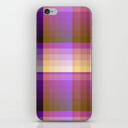 Complimentary Color Harmony ..Yellow /purple iPhone Skin