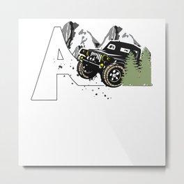 Off road, vehicle, gifts Metal Print