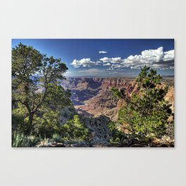 Grand Canyon Vista South Rim Canvas Print