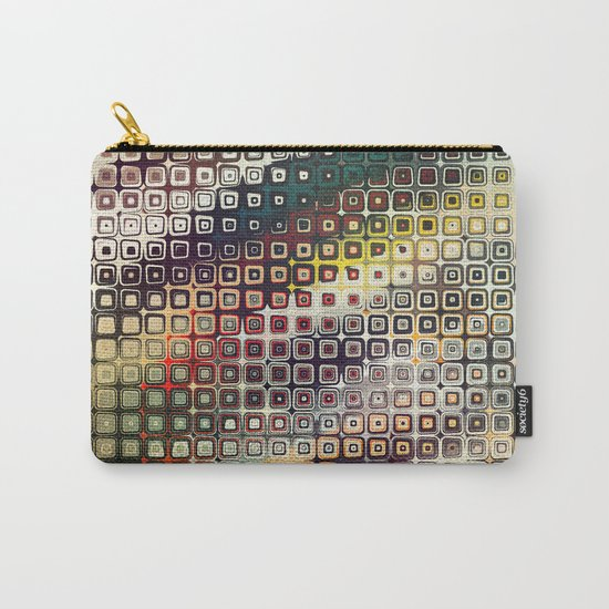 Abstract SQC Carry-All Pouch