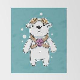 Polar Pilot Throw Blanket