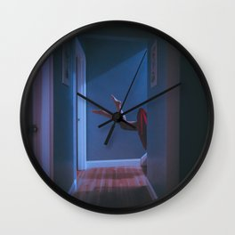 there's a light in the attic Wall Clock