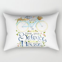 Like A Bicycle Rectangular Pillow