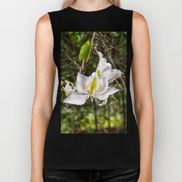 Beautiful butterfly tree bloom Biker Tank