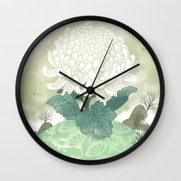 Celadon Wall Clock