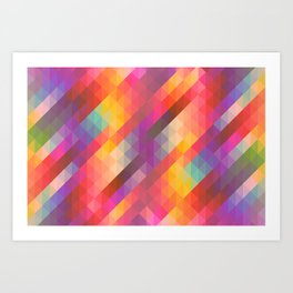 The Kaleidoscope II Art Print