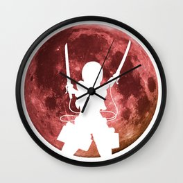 Anime Moon Inspired Shirt Wall Clock