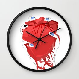 you always hurt the one you love Wall Clock