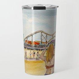 Santa Monica Pier Ferriswheel Travel Mug