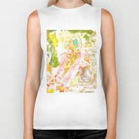 david fleck Biker Tanks featuring David by Lanny Quarles