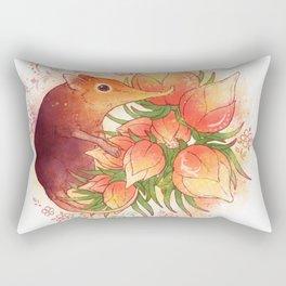 Pollinator Animals- Elephant Shrew Rectangular Pillow