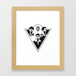 Jonas Brothers Framed Art Print