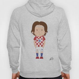 Luka Modrić - Croatia - World Cup 2014 Hoody
