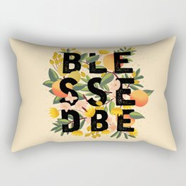 BLESSED BE LIGHT Rectangular Pillow