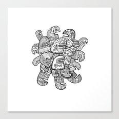 Heads II Canvas Print