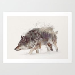 The Wolf III Art Print