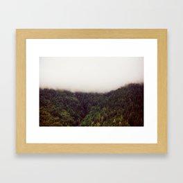 Split I Framed Art Print