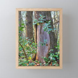 Portal To Wonderland Framed Mini Art Print