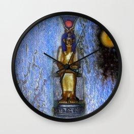 The Godess Isis Wall Clock