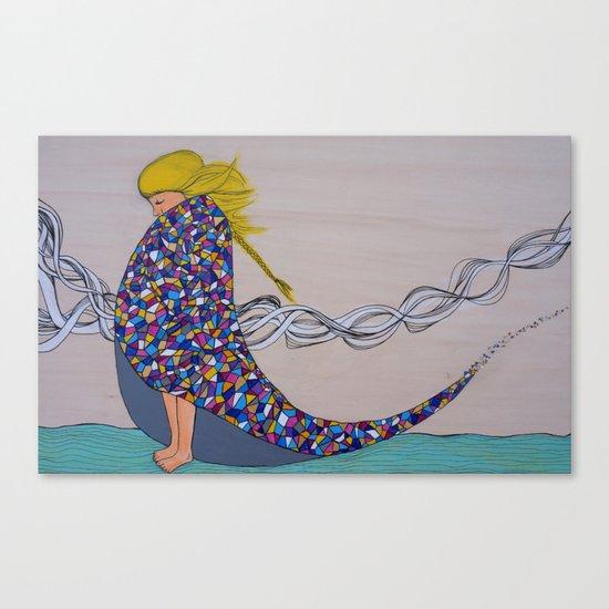 Morning Chill Canvas Print