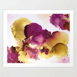 Wild Plum Art Print