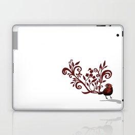Swirly Bird Laptop & iPad Skin