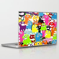 aliens Laptop & iPad Skins featuring ALIENS  by d.ts