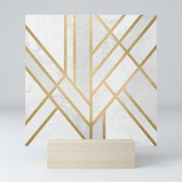 Art Deco Geometry 2 Mini Art Print