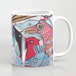Wild Night at the Ornithology Club Coffee Mug