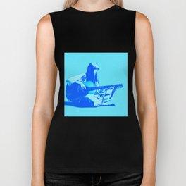 Blue Songbird Joni Mitchell Biker Tank