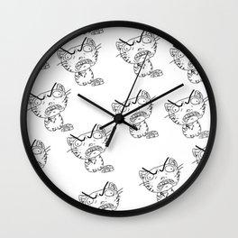 Rage Cat Wall Clock