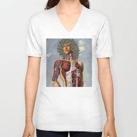 apollo V-neck T-shirts featuring Apollo by DIVIDUS