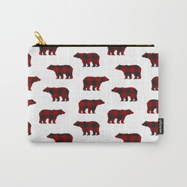 Lumberjack Bears Carry-All Pouch