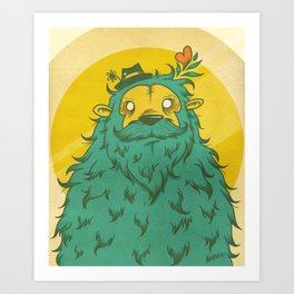 Monster Love! Art Print