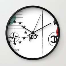 søuthbound Wall Clock