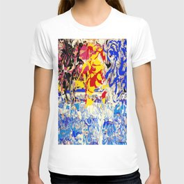 Abstract painting  - Sunset over The Sea T-shirt