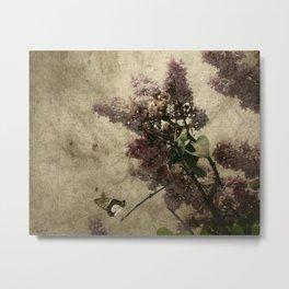 Lilac Scents Metal Print