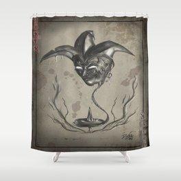 The Joker Card Shower Curtain
