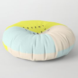 Adventure Before Dementia Floor Pillow