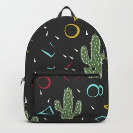 Cacti. Abstract modern pattern 3 Backpack