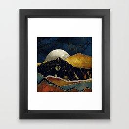 Bronze Night Framed Art Print