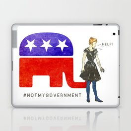 Not My Government #NotMyGovernment Laptop & iPad Skin
