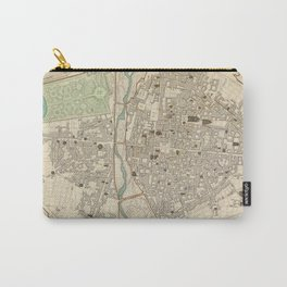 Vintage Map of Parma Italy (1840) Carry-All Pouch