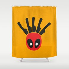 The Merc With A Mouth Alternative art Shower Curtain